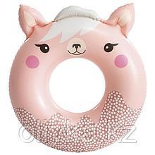 Круг для плавания «Милые зверята», 84 (91) см х 76 см, от 8 лет, до 40 кг, 59266NP, цвет микс
