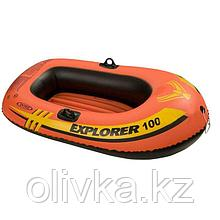 Лодка Explorer 100, 1 местная, 147 х 84 х 36 см, от 6 лет, до 55 кг, 58329NP INTEX