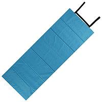 Коврик складной 145 х 51 см, цвет бирюзовый/василек