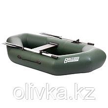 Лодка «Бриз 220», цвет зелёный