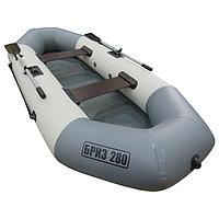 Лодка «Бриз» 280, цвет белый/серый