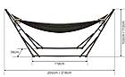 Гамак-кресло каркасный 2в1 Лагуна, фото 3
