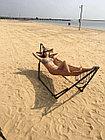 Гамак-кресло каркасный 2в1 Лагуна, фото 4