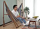 Гамак-кресло каркасный 2в1 Лагуна, фото 5