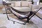 Гамак-кресло каркасный 2в1 Лагуна, фото 6