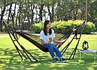 Гамак-кресло каркасный 2в1 Лагуна, фото 8