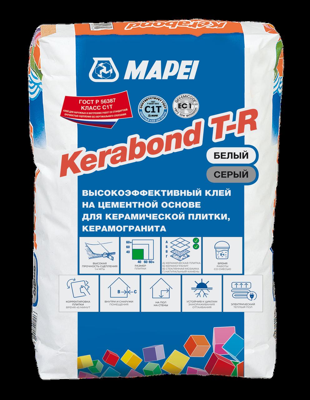 KERABOND T-R WHITE клеевая смесь 25 кг. РОССИЯ