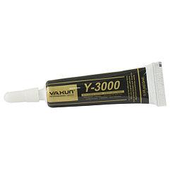 Клей Y-3000 Ya Xun для склеивания тачскринов с рамками чёрный 15мл