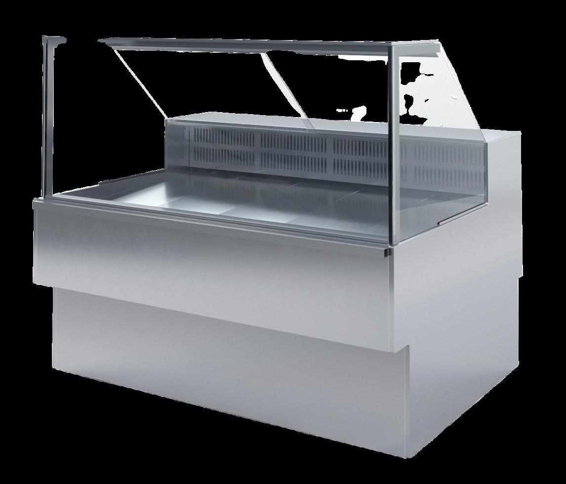 Холодильная витрина Илеть Cube ВХС-1,2 статика