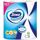 Полотенца бумажные в рулонах Zewa, 2-слойные, 15м/рул, тиснение, белые, 2шт., фото 5