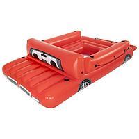 Плот надувной для плавания «Красный грузовик», 381 x 262 см, 43304 Bestway
