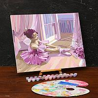 Картина по номерам на холсте с подрамником «Балерина» 40х50 см