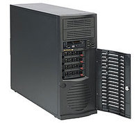 Сервер Supermicro CSE-733TQ-500\X11SCL-F\Xeon E2224\RAM 32GB DDR4\SSD 480GB S4510\1x1TB Exos\2xGLAN\500W