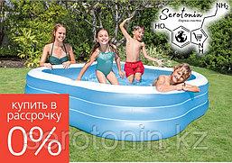 Семейный надувной бассейн Intex 229х56см