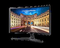 "Монитор 23.5"" SAMSUNG C24F396FHI VA 1920x180 16:9 60Hz 178°x178° 4мс 250 кд/м2 3000:1 Curved 1800R D-Sub HDMI, фото 1"