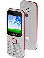 Мобильный телефон Maxvi C15 white-red