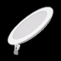 Светильник Gauss Slim круг 18W 1350lm 4000K 180-265V IP20 монтаж Ø210 225*22 LED