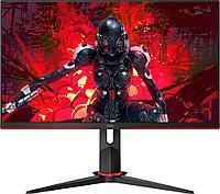 """Монитор Игровой 23,8"""" AOC 24G2/BK/01 IPS 1920x1080 144Hz 250cdm 4ms 1000:1 1xD-SUB 2xHDMI Black/Red, фото 1"""