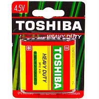 Квадратная батарейка Toshiba HEAVY DUTY 3R12 BP -1HW, 4.5 V