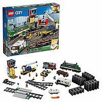 Lego 60198 Город Товарный поезд
