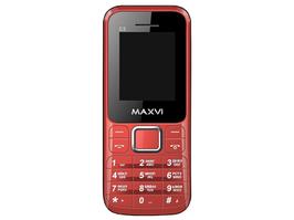 Мобильный телефон Maxvi C3 red