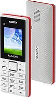 Мобильный телефон Maxvi C9 white-red