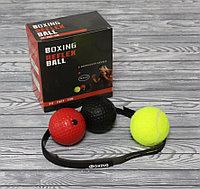 Боксерский рефлекторный скоростной Пробивной резиновый мяч Power Boll, фото 1