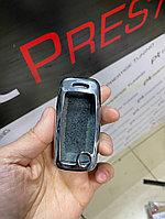 Железный чехол на ключ Volkswagen Polo Хром