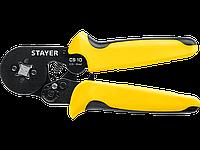 Пресс-клещи для втулочных наконечников CS-10, STAYER Professional, 0.25 - 10 мм.кв