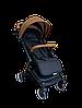 Прогулочная коляска Teknum 308 (ЭКОКОЖА) Рыжая, фото 3