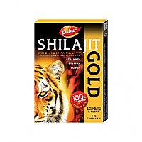 Шиладжит, Мумие с Золотом и Шафраном (Shilajit Gold&Kesar)