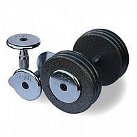 Гантельный ряд Fitnessport от 2.5 до 25кг (10 пар)