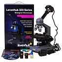 Микроскоп цифровой Levenhuk D320L PLUS, 3,1 Мпикс, монокулярный, фото 9