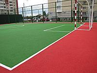 Спортивная площадка, тартановое покрытие