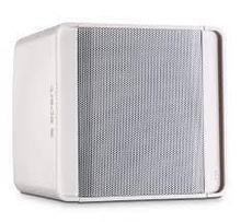 """Кабинетный компактный 2х полосный громкоговоритель 5,25/1"""", 50Вт/8Ω, 94-20КГц, 92дБ, белый, 155х164м"""