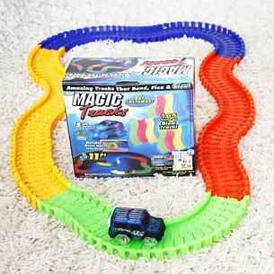 Детская игрушечная дорога Magic Tracks 165 деталей + машинка Ликвидация склада!, фото 2