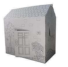 Картонный домик раскраска Ликвидация склада!, фото 2