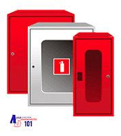 Шкафы для огнетушителей