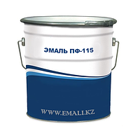 Эмаль ПФ-115 желтая