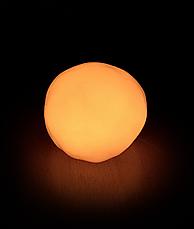 Умный пластилин светящийся в темноте PUTTY, цвет оранжевый Ликвидация склада!, фото 3