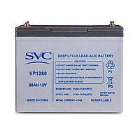 Аккумуляторная батарея SVC VP1280 12В 80 Ач (329*170*224), фото 1