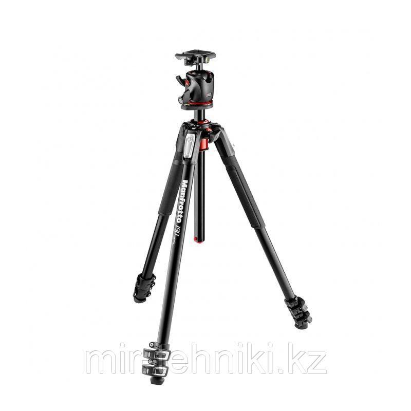 Штатив Manfrotto MK190XPRO3-BHQ2 и шаровая головка для фотокамеры