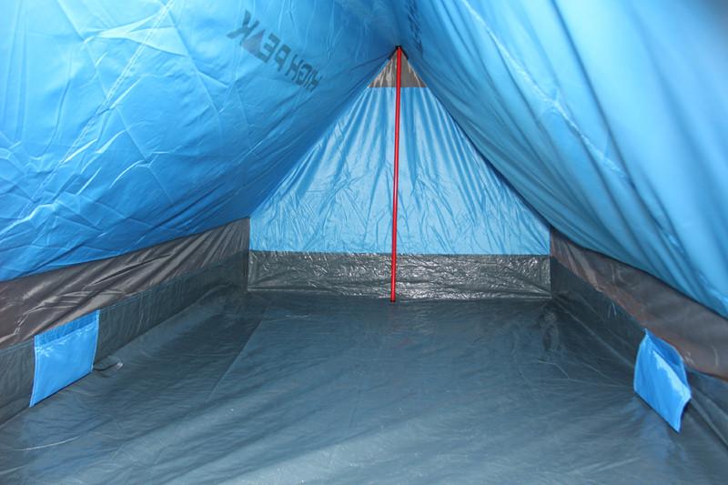 Палатка HIGH PEAK Мод. MINIPACK 2 (2-x местн.)(190x120x95см)(1,60кГ) (нагрузка: 1.500мм) R89024 - фото 6