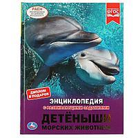 Энциклопедия с развивающими заданиями «Детёныши морских животных»