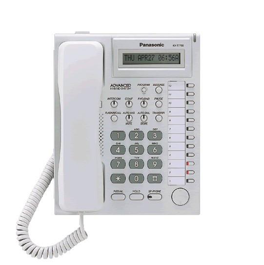 Системный телефон Panasonic KX-T7730RU б. у. - фото 3