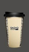 """Стакан одноразовый бумажный """"Qazaq Nation"""" stepp color"""