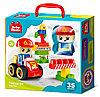 Конструктор пластиковый «Пожарная часть» 35 деталей Baby Blocks