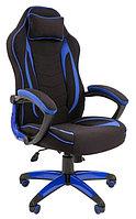 Игровое кресло Chairman Game 28 черно синий