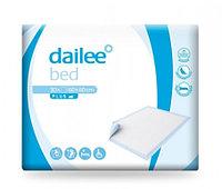 Одноразовые пеленки Dailee Bed 60x60 30 шт