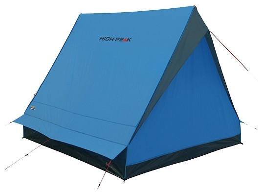 Палатка HIGH PEAK Мод. SCOUT 2 (2-x местн.)(210x140x130см)(2,50кГ)(нагрузка: 2.000мм)(синий/серый) R89021 - фото 5